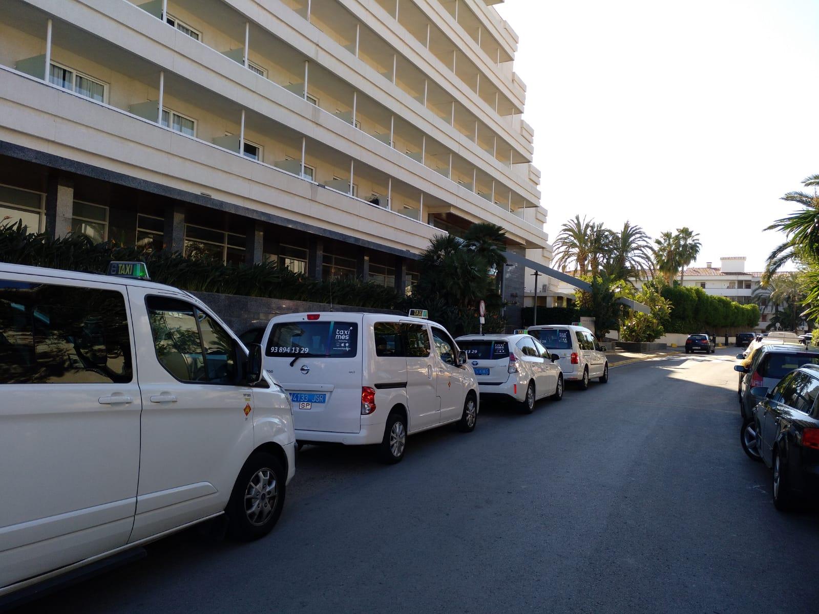 Taxis en Sitges